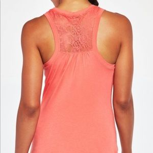 Calia by Carrie Underwood Lace Back Tank Top